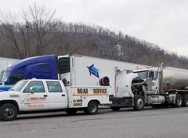 Roadside truck and trailer repair virginia
