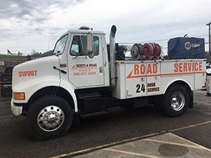 tractor trailer truck repair Roanoke